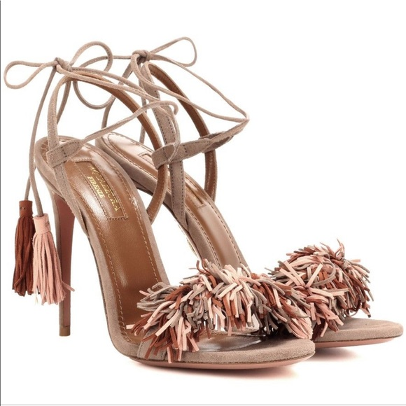 9788e169f4a Aquazzura suede wild thing sandals